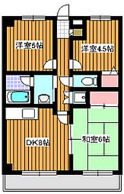 コアロード成増4階Fの間取り画像
