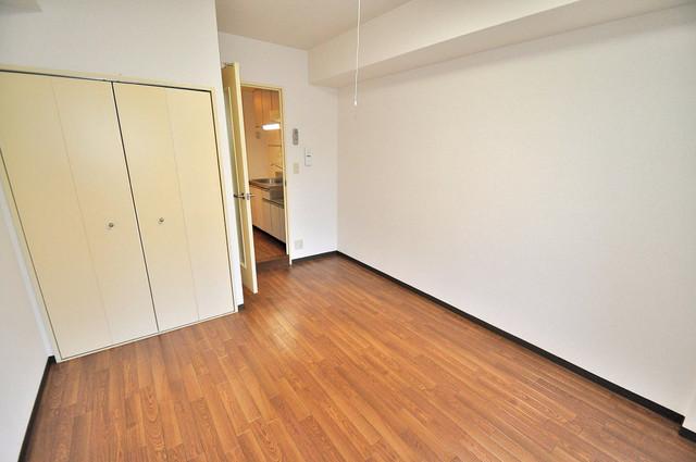 フィオレ源氏ケ丘 ゆとりのあるベッドルームで快適な睡眠をとってくださいね。