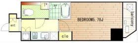 アルテシモエスト8階Fの間取り画像