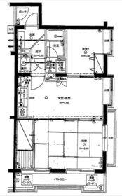 二俣川駅 徒歩8分3階Fの間取り画像