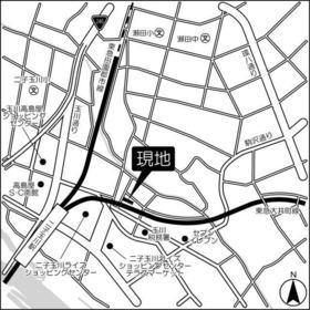 ヒルサイド二子玉川案内図