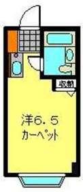 ヒルサイドテラス水奈月2階Fの間取り画像