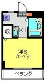 元住吉駅 徒歩15分5階Fの間取り画像