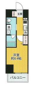 SHOKEN Residence横浜戸部1階Fの間取り画像