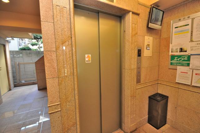 Celeb布施東 嬉しい事にエレベーターがあります。重い荷物を持っていても安心
