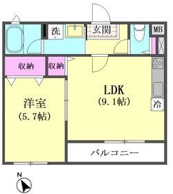 エルアノール 104号室