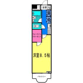 ソフィア・メゾン3階Fの間取り画像