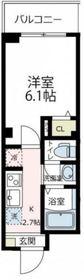ビューノQ.S横濱阪東橋1階Fの間取り画像