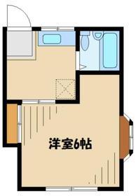 メゾンドニコル2階Fの間取り画像