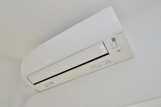 プレシオ小阪 うれしいエアコン標準装備。快適な生活が送れそうです。