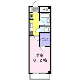 フレアコスモ2階Fの間取り画像