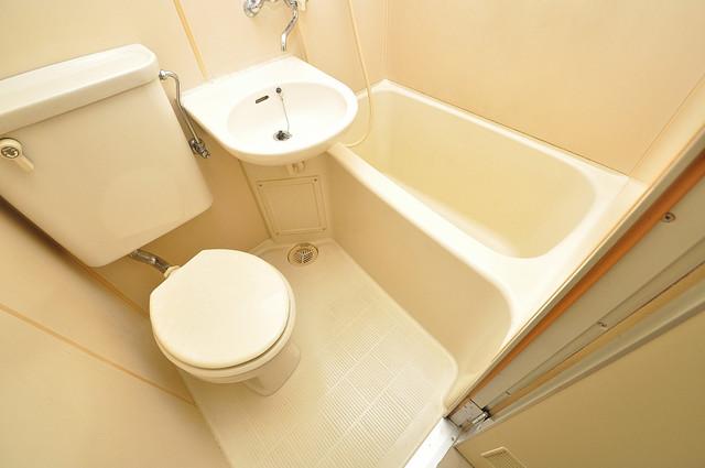 サニーマンション シャワー一つで水回りが掃除できて楽チンです