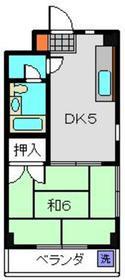 チェリスニシムラ3階Fの間取り画像