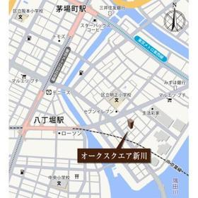 オークスクエア新川案内図