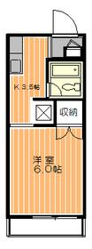 メゾン5282階Fの間取り画像