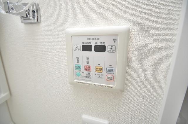 CASSIA高井田NorthCourt 浴室乾燥機付きで梅雨の時期も怖くありません。