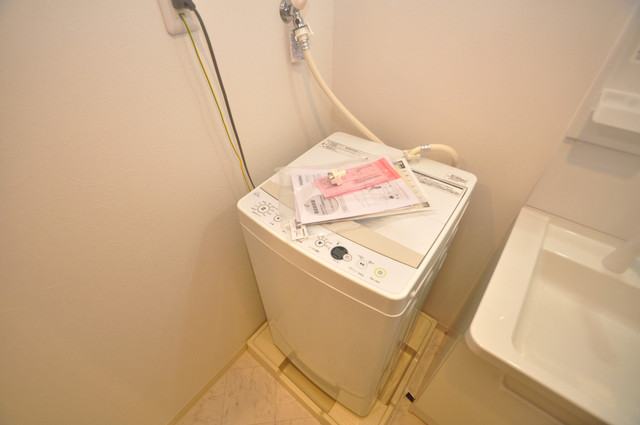 グランエクラ田島 室内に洗濯機があれば雨の日でも安心ですね。
