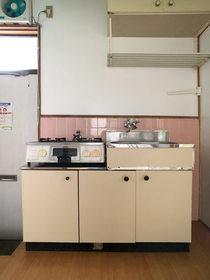 コーポつしま4棟 : 2階キッチン