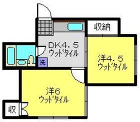 武蔵小杉駅 バス14分「能満寺」徒歩3分1階Fの間取り画像