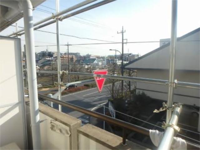 ニュースカイ桜ヶ丘景色