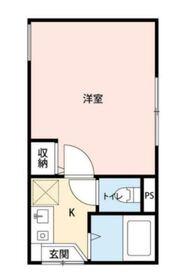 KTT高井戸2階Fの間取り画像