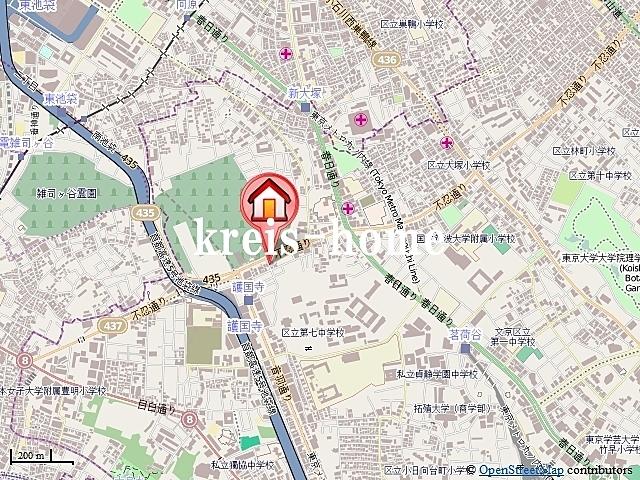 フォレストビュー護国寺案内図