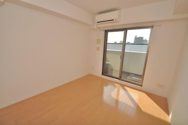 CASSIA高井田SouthCourt 窓があるので風通しが良く、快適な睡眠がとれそうですね。