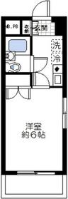 シーガル鶴見7階Fの間取り画像