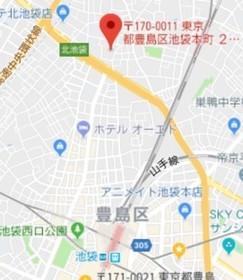 板橋駅 徒歩18分案内図
