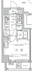 MAXIV川崎4階Fの間取り画像