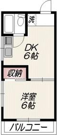 エリート東大井2階Fの間取り画像