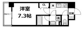 ロイジェント磯子6階Fの間取り画像