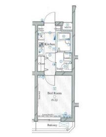 ル・リオン中野白鷺3階Fの間取り画像