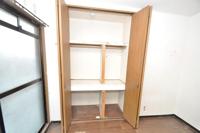 カトル・セゾン もちろん収納スペースも確保。いたれりつくせりのお部屋です。