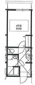 リーヴェルポート横浜西口Carna3階Fの間取り画像