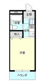 シルクハウスくらしき4階Fの間取り画像
