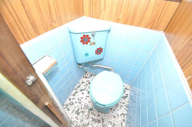 横沼町3丁目貸家 キレイに清掃されたトイレは清潔感があり気分もよくなります。