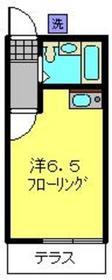 メゾンアムール1階Fの間取り画像