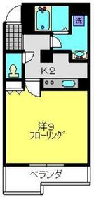 フェリーチェ横濱7階Fの間取り画像