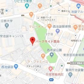 椎名町駅 徒歩4分案内図