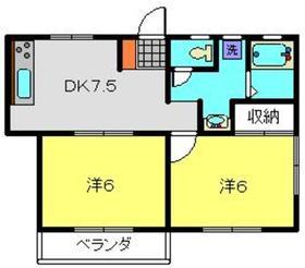 磯子駅 徒歩30分3階Fの間取り画像