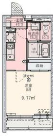 (仮)京町3丁目新築アパート3階Fの間取り画像