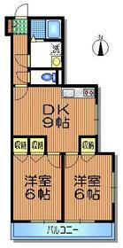 モンパレ2階Fの間取り画像