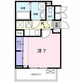 豊田駅 徒歩14分1階Fの間取り画像