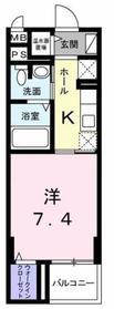 京王堀之内駅 徒歩12分4階Fの間取り画像