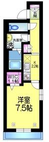 ラフォルテ1階Fの間取り画像
