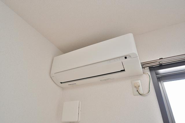 エスティームⅡ番館 エアコンが最初からついているなんて、本当に助かりますね。