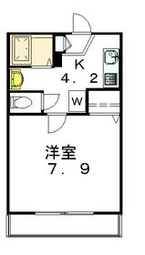 アウグーリ世田谷1階Fの間取り画像