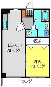 日吉本町駅 徒歩18分4階Fの間取り画像