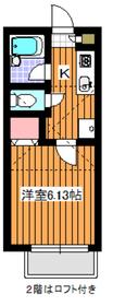 サンヴィアーレ旭2階Fの間取り画像